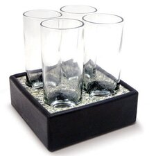5 Piece Cool Cordial Glass Set