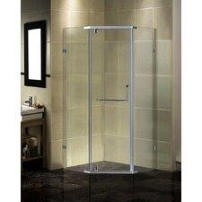 Semi-Frameless Neo-Angle Shower Enclosure