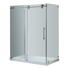 Sliding Door Shower Enclosure