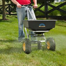 Spyker Pro 60 Series Push Spreader, 80-120 lbs Capacity