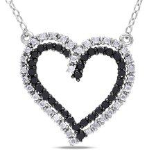 Cable-chain Half Round-cut Diamond Pendant