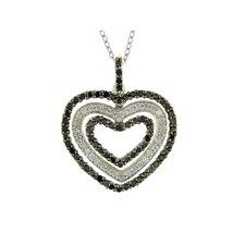Cable-chain One Round-cut Diamond Pendant
