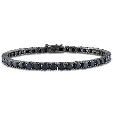 Round Cut Gemstones Tennis Bracelet