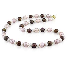 Multi Shape Freshwater Cultured Pearl Necklace