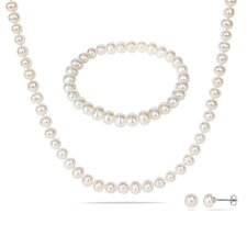 Freshwater Pearl 3 in 1 Jewelry Set