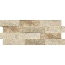 "Avila 16"" x 6"" Porcelain Field Tile in Beige Brick"
