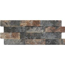 "Avila 16"" x 6"" Porcelain Field Tile in Cotto Brick"