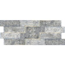 "Avila 16"" x 6"" Porcelain Field Tile in Grey"