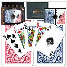 Copag™ Bridge Size Regular Index Playing Card Set