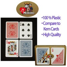 Modiano Poker Size Reg Index Setup