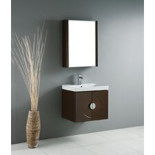 "<strong>Madeli</strong> Genova 24"" Wall Mounted Bathroom Vanity Set"