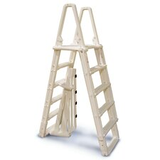 Evolution A-Frame 5-Step Ladder with Barrier