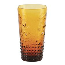Renaissance Pressed Glass 14 oz. Tumbler