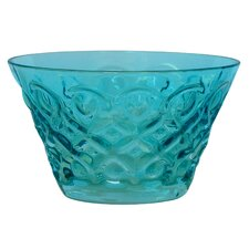 Teardrop Pressed Glass 4.75'' Bowl
