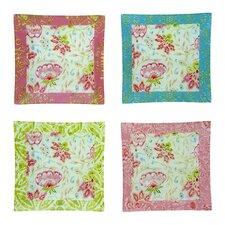 "Dena Marakesh Glass 6"" Canape Plate (Set of 4)"