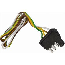 Four Way Flat Wiring Harness and Connector Plug
