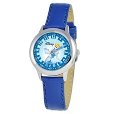Kid's Cinderella Time Teacher Watch in Blue