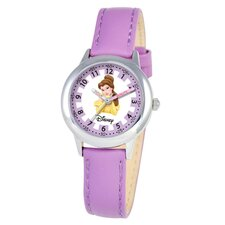 Kid's Belle Time Teacher Watch in Purple