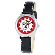 Kid's Toy Story Time Teacher Watch in Black