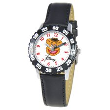 Kid's Muppets Time Teacher Watch in Black