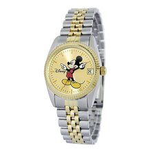 "<strong>Disney</strong> Womens ""Mickey Mouse"" Bracelet Watch"