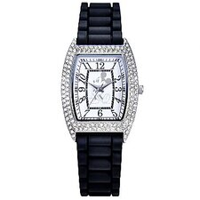 "Womens Mickey Mouse ""Crystal Accent"" Watch"