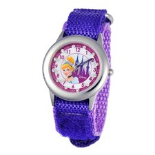<strong>Disney</strong> Girl's Glitz Cinderella Time Teacher Watch
