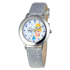Girls Tween Glitz Cinderella Watch