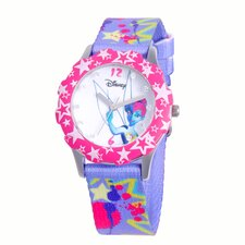 Girls Tween Glitz Tinker Bell Watch