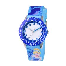 Girl's Cinderella Time Teacher Watch