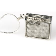 <strong>Harmony Jewelry</strong> Mesa Boogie Amp Necklace in Silver