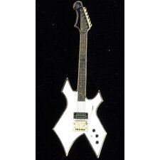 BC Rich Warlock Electric Guitar in Gold and White