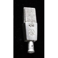AKG C414 Condenser Micrphone Pin in Pewter