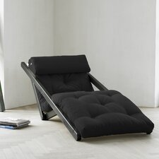 Fresh Futon Figo with Wenge Frame in Black