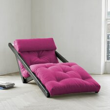 Fresh Futon Figo with Wenge Frame in Pink
