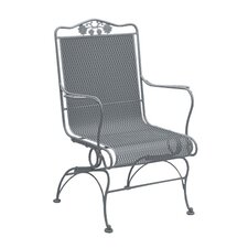 <strong>Woodard</strong> Briarwood Coil Spring High Back Chair