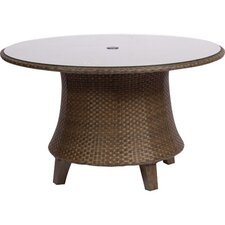 <strong>Woodard</strong> Del Cristo Round Umbrella Dining Table