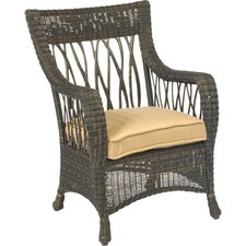 <strong>Woodard</strong> Serengeti Dining Arm Chair with Cushion
