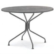 <strong>Woodard</strong> Briarwood Round Umbrella Dining Table