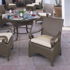 <strong>Woodard</strong> Carlton Wicker Deep Seating Chair w/ Cushions