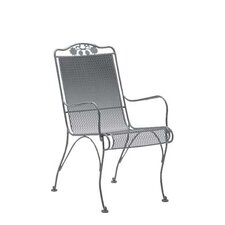 <strong>Woodard</strong> Briarwood High Back Dining Arm Chair