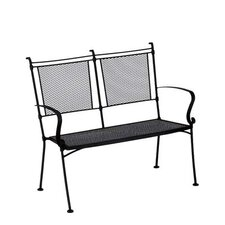 <strong>Woodard</strong> Bradford Wrought Iron Garden Bench