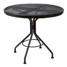 <strong>Woodard</strong> Mesh Top Contract Round Bistro Table