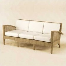 <strong>Woodard</strong> Trinidad Wicker Sofa with Cushions
