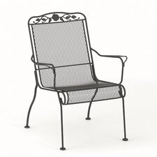 <strong>Woodard</strong> Windflower Mesh Stackable High Back Lounge Chair
