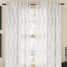 Amore Linen Rod Pocket Drape Single Panel