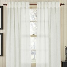 <strong>Gracious Living</strong> Linen Air Rod Pocket Drape Single Panel