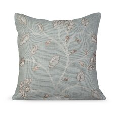 <strong>Gracious Living</strong> Foliage Burlap Pillow