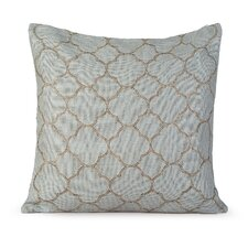 <strong>Gracious Living</strong> Intricate Burlap Pillow
