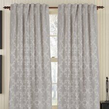<strong>Gracious Living</strong> Joyous Linen Rod Pocket Drape Single Panel